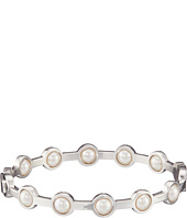 Majorica - 5mm Round Notch Bangle Bracelet