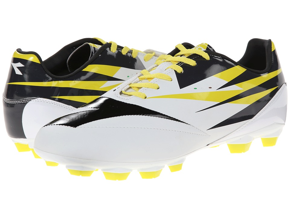 Diadora DD NA 2 R LPU White/Black/Fluo Mens Shoes