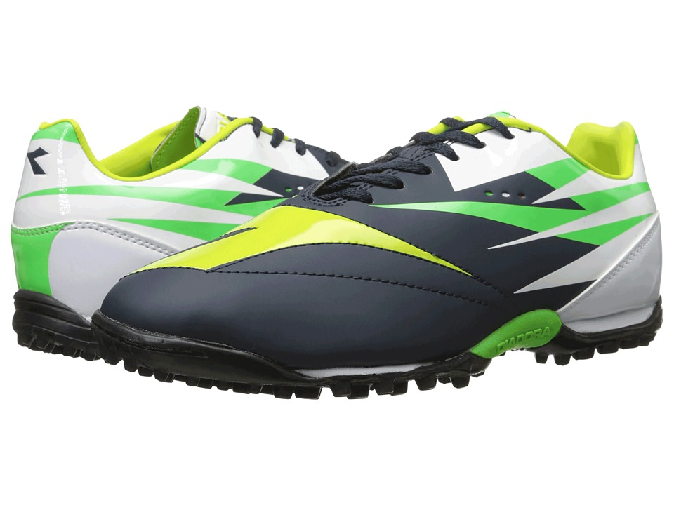 Diadora DD NA 2 R TF Tuareg Blue/Fluo Grey Mens Shoes