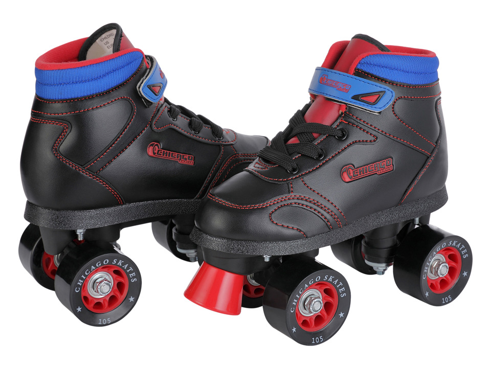 Chicago Skates Sidewalk Skate Little Kid/Big Kid Black Shoes
