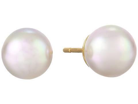 Majorica 8mm Stud Earrings - White