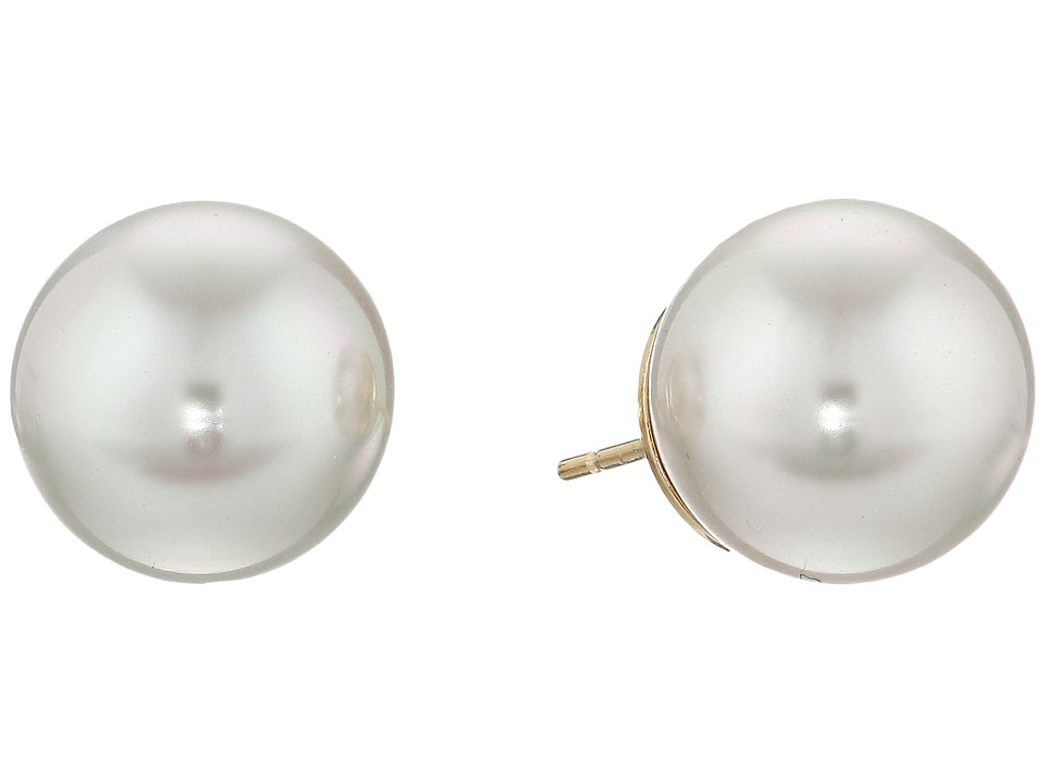 Majorica 12mm Stud Earrings White Earring