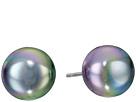 10mm Flat Stud Earrings