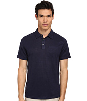 Michael Kors - Solid Linen Polo