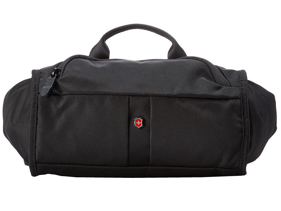 Victorinox - Lumbar Pack w/ RFID Protection (Black) Bags