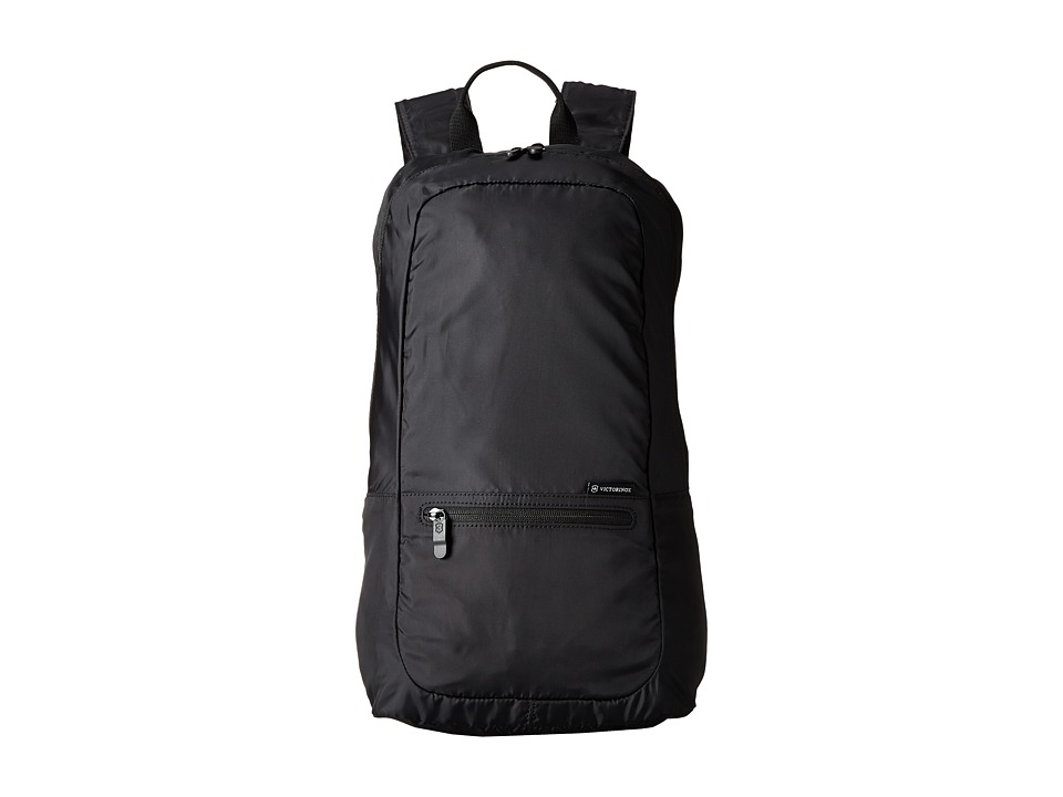 Victorinox - Packable Backpack (Black) Backpack Bags