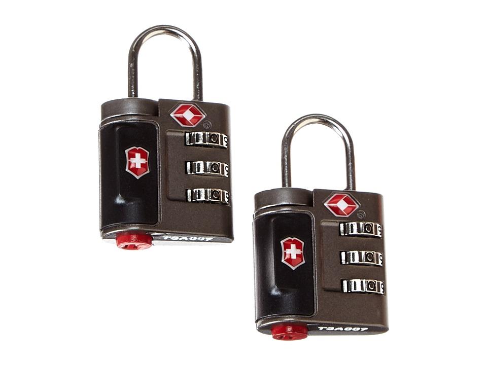 Victorinox - Travel Sentry Approved Combination Lock Set (Grey) Wallet
