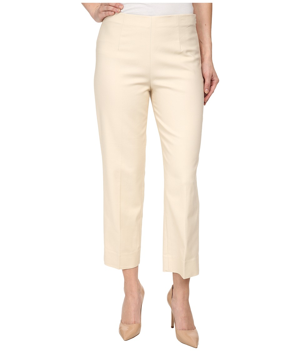 Nic+Zoe Petite Perfect Pant Side Zip Ankle (Sandshell) Wo...