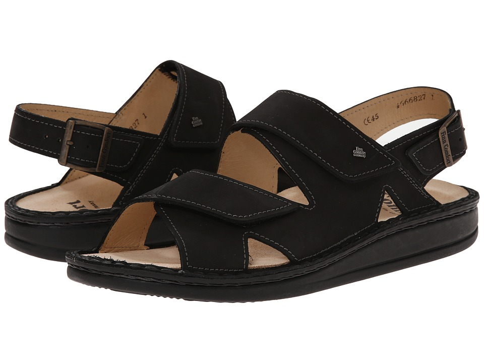 Finn Comfort - Toro - S (Black) Sandals