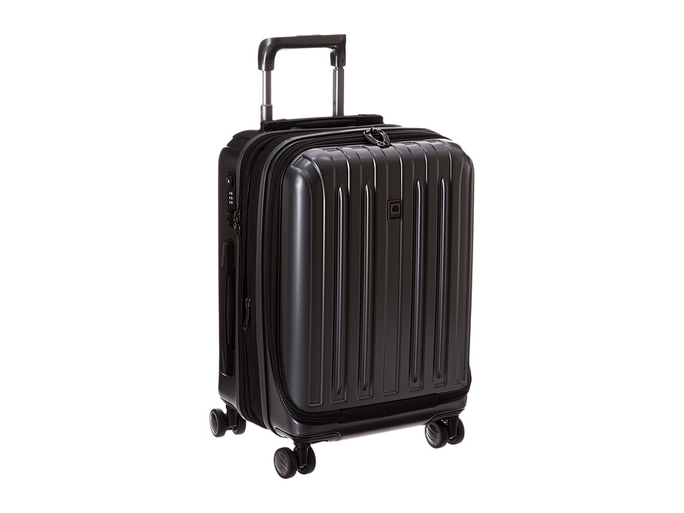 Delsey Helium Titanium International Expandable Carry-On Spinner Trolley (Graphite) Luggage