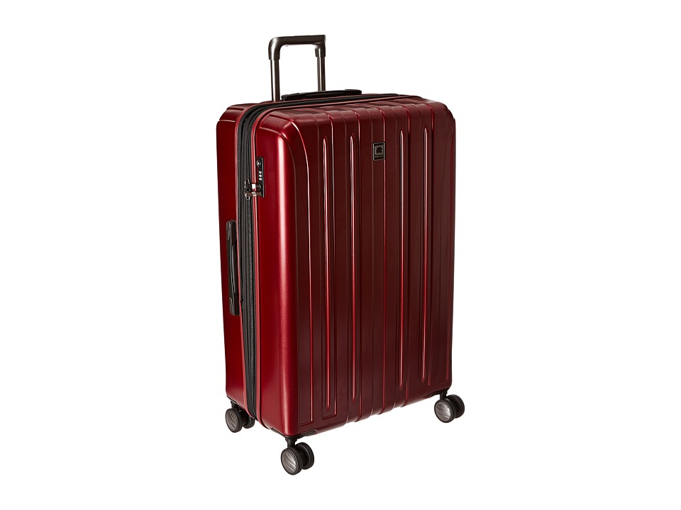 Delsey - Helium Titanium 29 Expandable Spinner Trolley (Black Cherry) Luggage