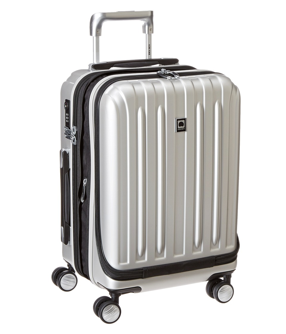 Delsey - Helium Titanium International Expandable Carry-On Spinner Trolley (Silver) Luggage