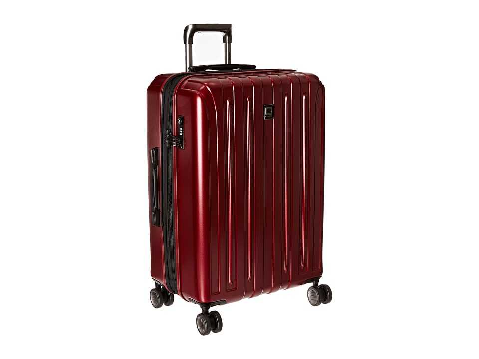 Delsey Helium Titanium 25 Expandable Spinner Trolley (Black Cherry) Luggage