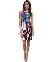 NYDJ - Becca Abstract Brush Art Shift Dress