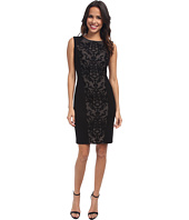 NYDJ - Ellis Embroidered Mesh Ponte Dress