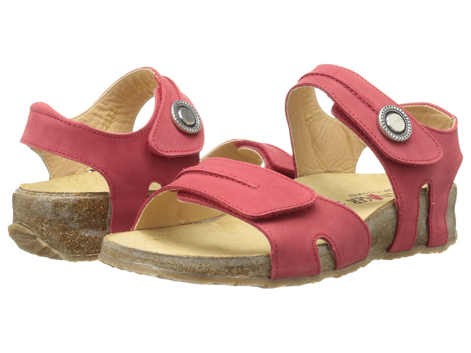 Haflinger Patricia Berry Womens Sandals
