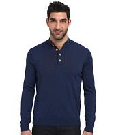 Thomas Dean & Co. - L/S Quarter-Button Sweater