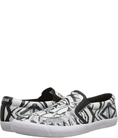Just Cavalli - Masai Warrior Printed Leather Slip-On