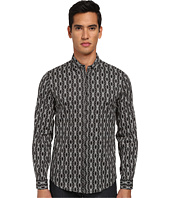 Just Cavalli - African Rhapsody Print Cotton Stretch Shirt Button Up