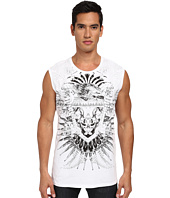 Just Cavalli - Eagle Print Short Sleeve Tank