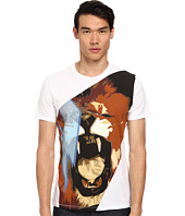 Just Cavalli - Roaring Lion Print T-Shirt