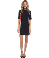 Maggy London - Color Block Crepe Shift Dress