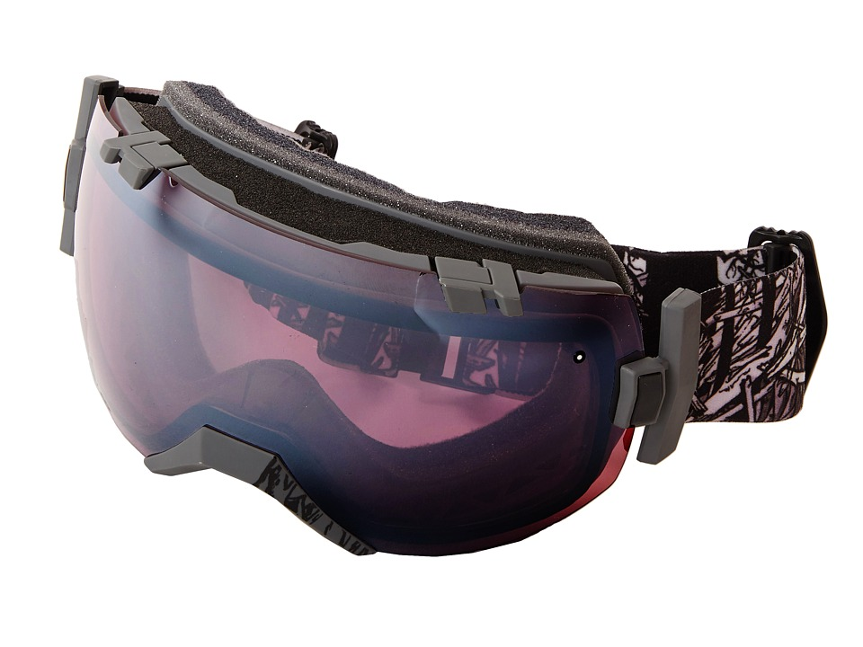 Smith Optics IO Black Frame/Ignitor/Red Sensor Lens Snow Goggles