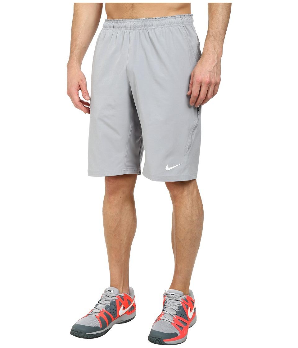 Nike N.E.T. 11 Woven Short (Stadium Grey/White) Men