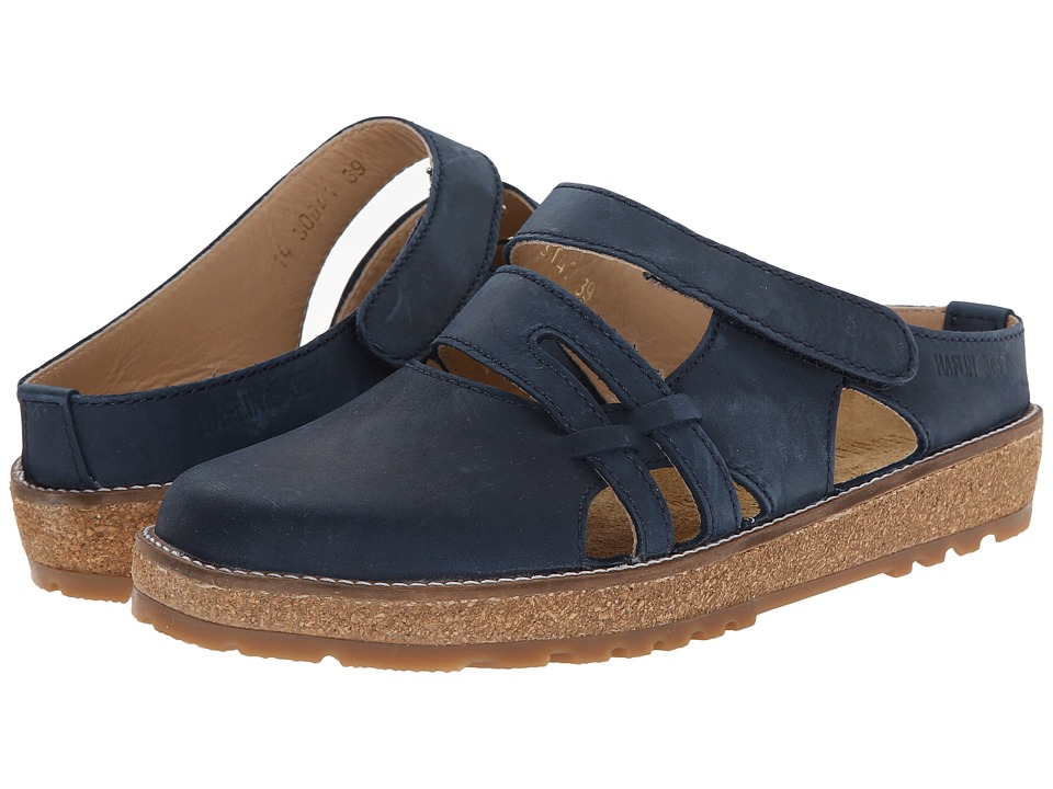 Haflinger Thea Navy Womens Slip on Shoes