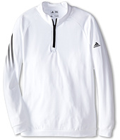 adidas Golf Kids - 3 Stripe 1/2 Zip (Big Kids)