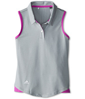 adidas Golf Kids - Essentials 3 Stripes S/L Polo (Big Kids)