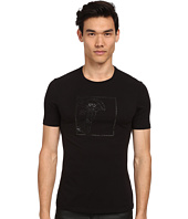 Versace Collection - Tonal Studs Medusa Tee