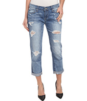 Paige - Jimmy Jimmy Crop in Indigo Ezra Destructed