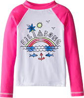 Billabong Kids - Rainbow Spot L/S Rashguard (Little Kids/Big Kids)