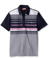 PUMA Golf Kids - YD Stripe Polo (Big Kids)