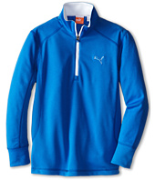 PUMA Golf Kids - Golf L/S 1/4 Zip Top (Big Kids)