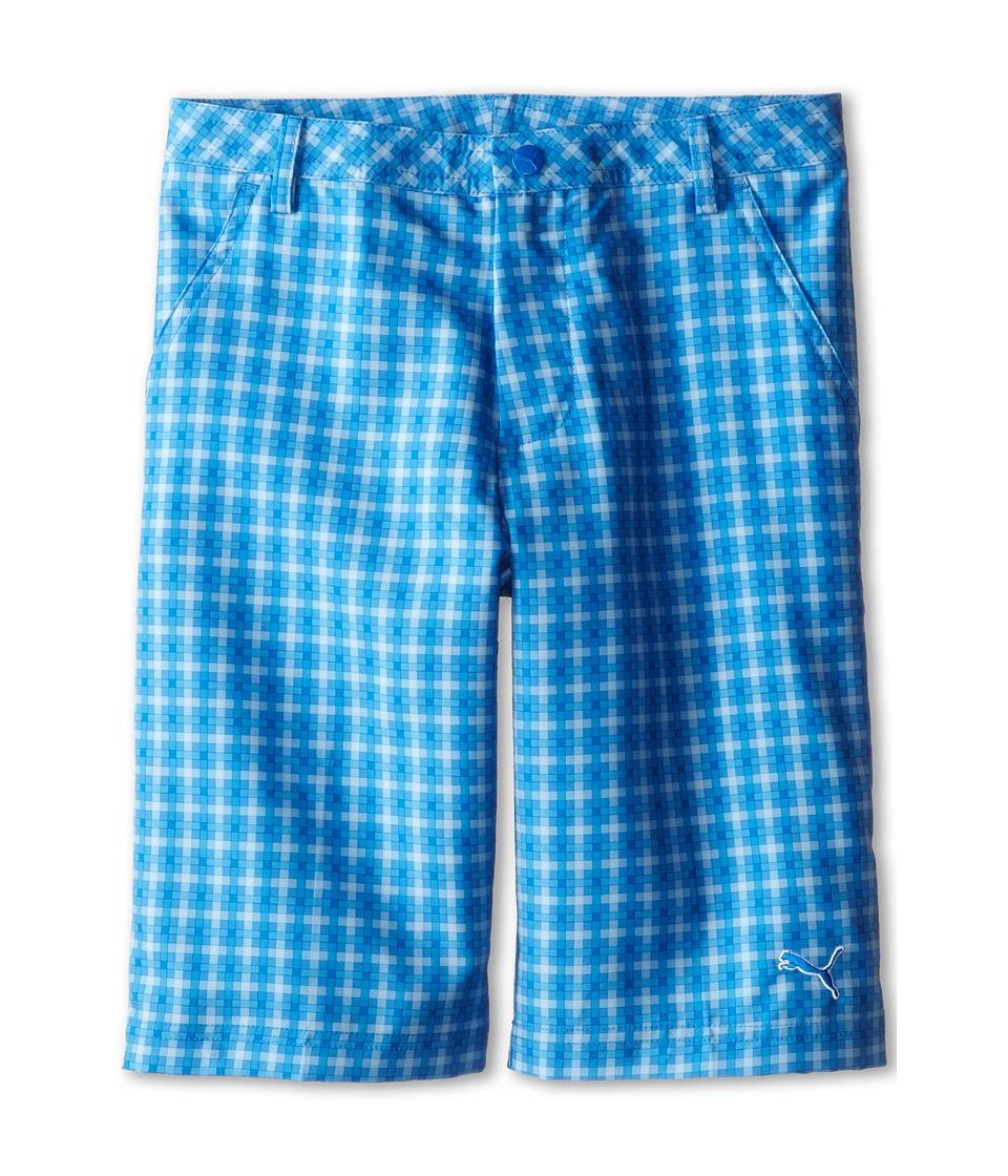 PUMA Golf Kids Novelty Short Big Kids Strong Blue/Regatta/Cerulean Boys Shorts