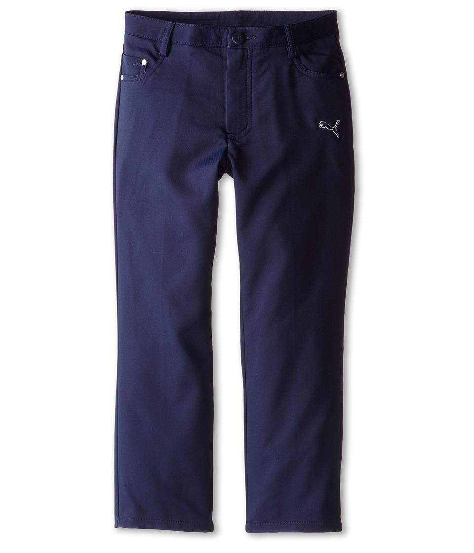 PUMA Golf Kids Five Pocket Pant Big Kids Peacoat Boys Casual Pants