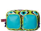 Gypsy SOULE Overnight Organizer (Turquoise/Lime/Pink)