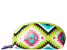 Gypsy SOULE Small Makeup Bag (Turquoise/Lime/Pink)
