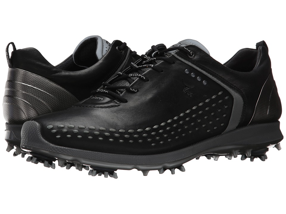 ECCO Golf BIOM G 2 Black/Transparent Mens Golf Shoes