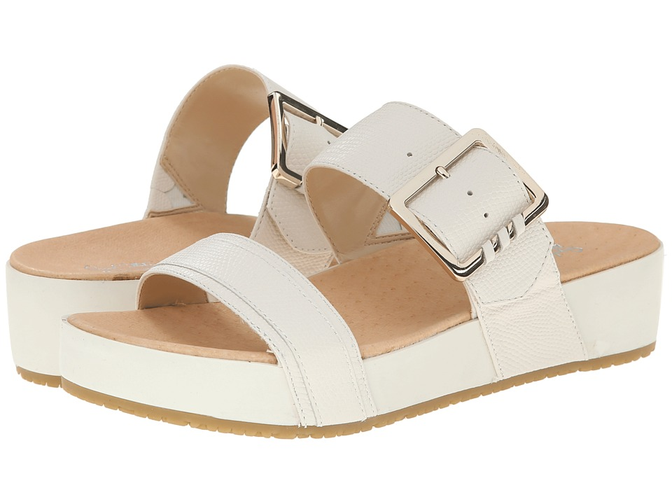 Dr. Scholls Frill Original Collection Gardenia Leather Womens Sandals