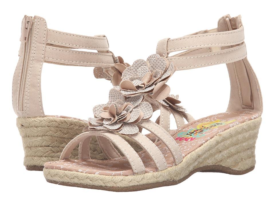 Rachel Kids Sienna Little Kid/Big Kid Tan Linen Girls Shoes