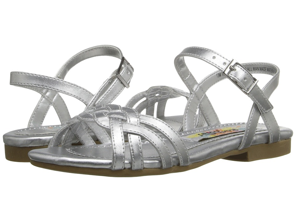 Rachel Kids Angelina Little Kid/Big Kid Silver Metallic Girls Shoes