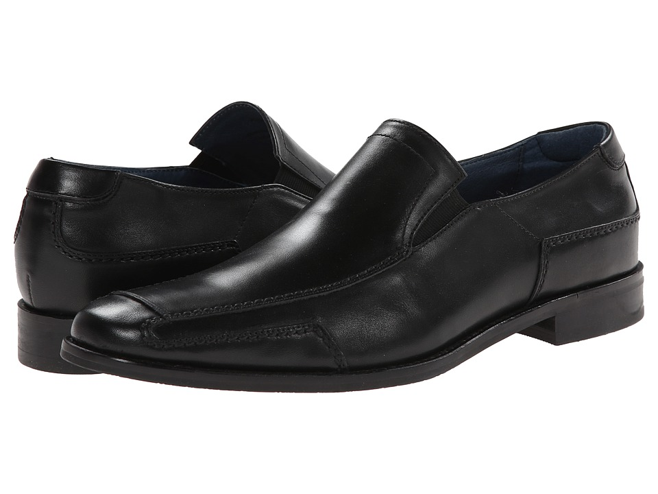 RUSH by Gordon Rush - Shaw (14) (Black) Mens Slip-on Dress Shoes