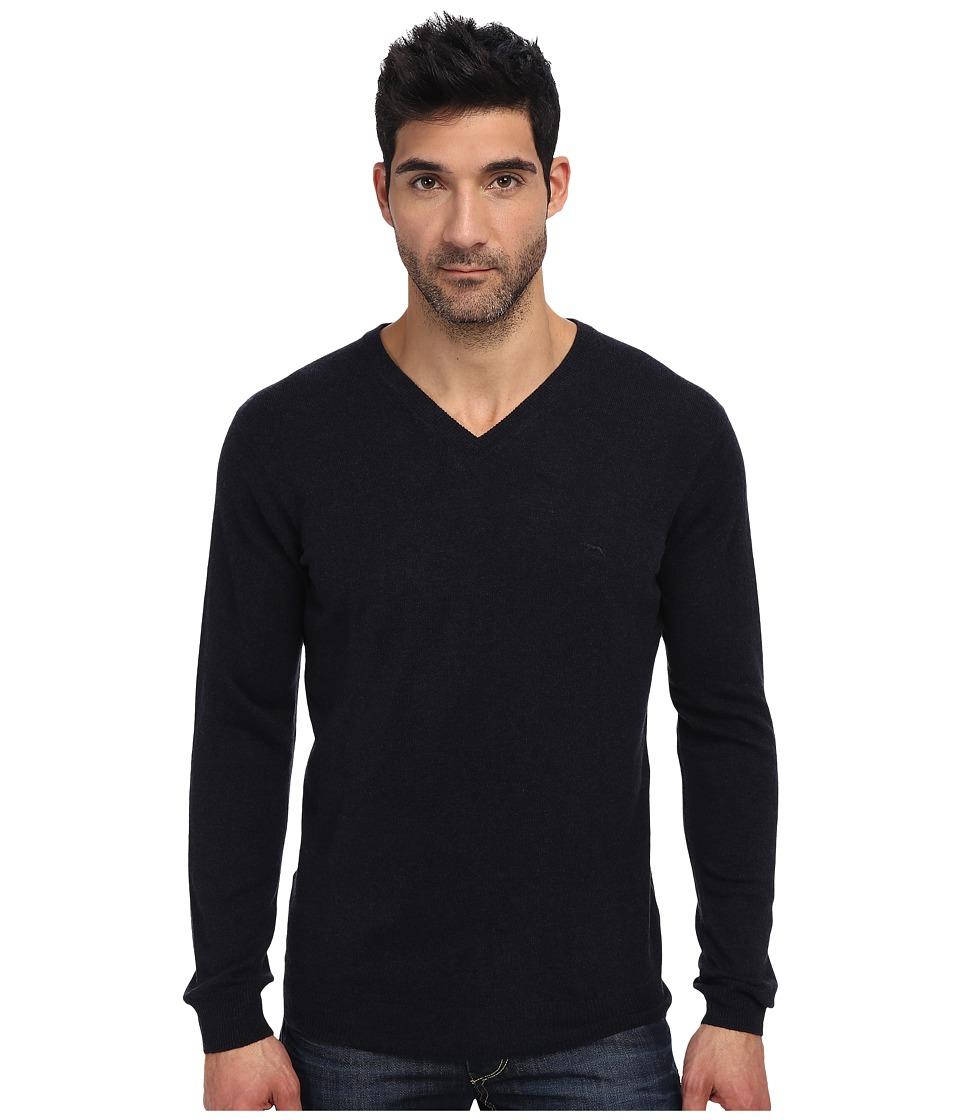 Rodd amp Gunn Inchbonnie Knit Sweater Midnight Mens Long Sleeve Pullover