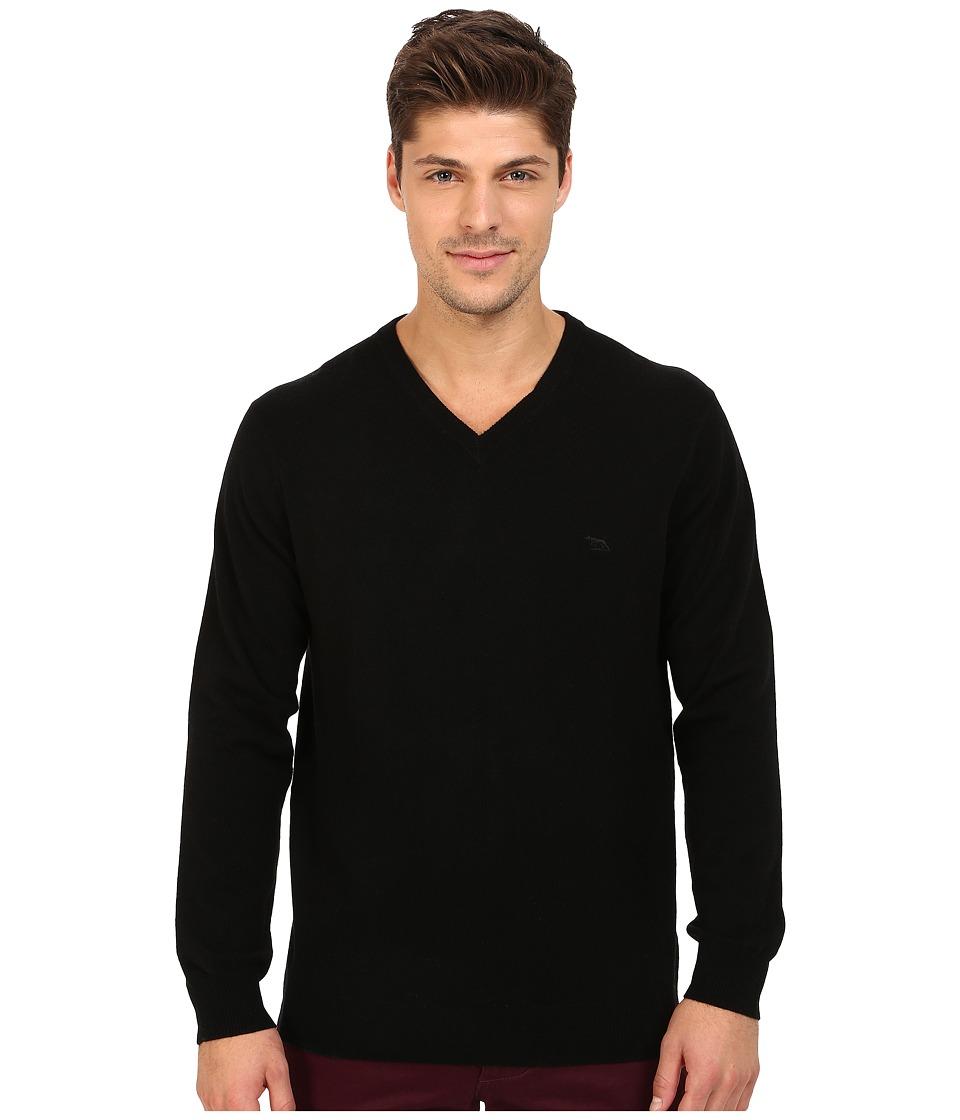 Rodd amp Gunn Inchbonnie Knit Sweater Onyx Mens Long Sleeve Pullover