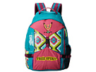 Gypsy SOULE Free Spirit Backpack (Turquoise/Lime/Pink)