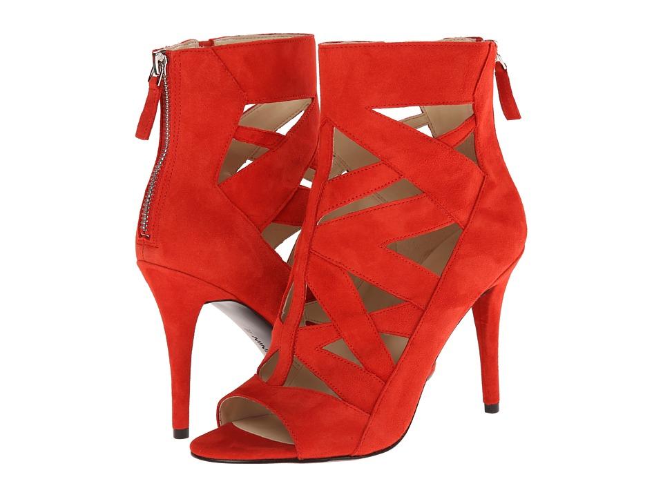 Nine West Delfina (Red Suede) High Heels