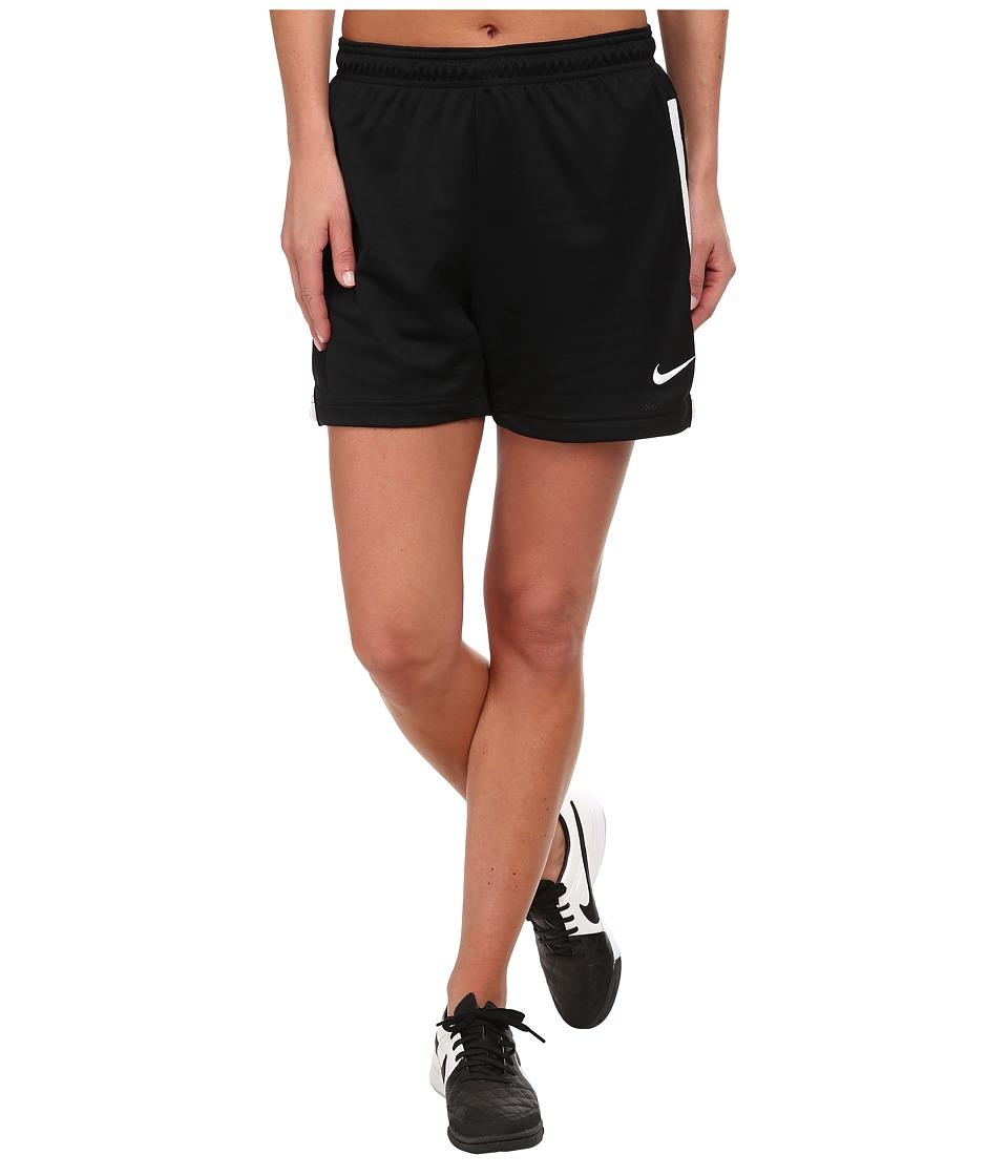 Nike Dri-FIT Academy Knit Shorts (Black/White/White) Women